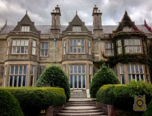 Muckross house in Killarney National Park, Ireland.