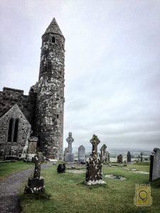 Ireland Destinations: The Round Tower at the Rock of Cashel. County Tipperary, Ireland.