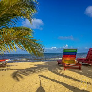 Things To Do in Hopkins, Belize: A beachfront scene at Hopkins Bay resort in Hopkins, Belize.