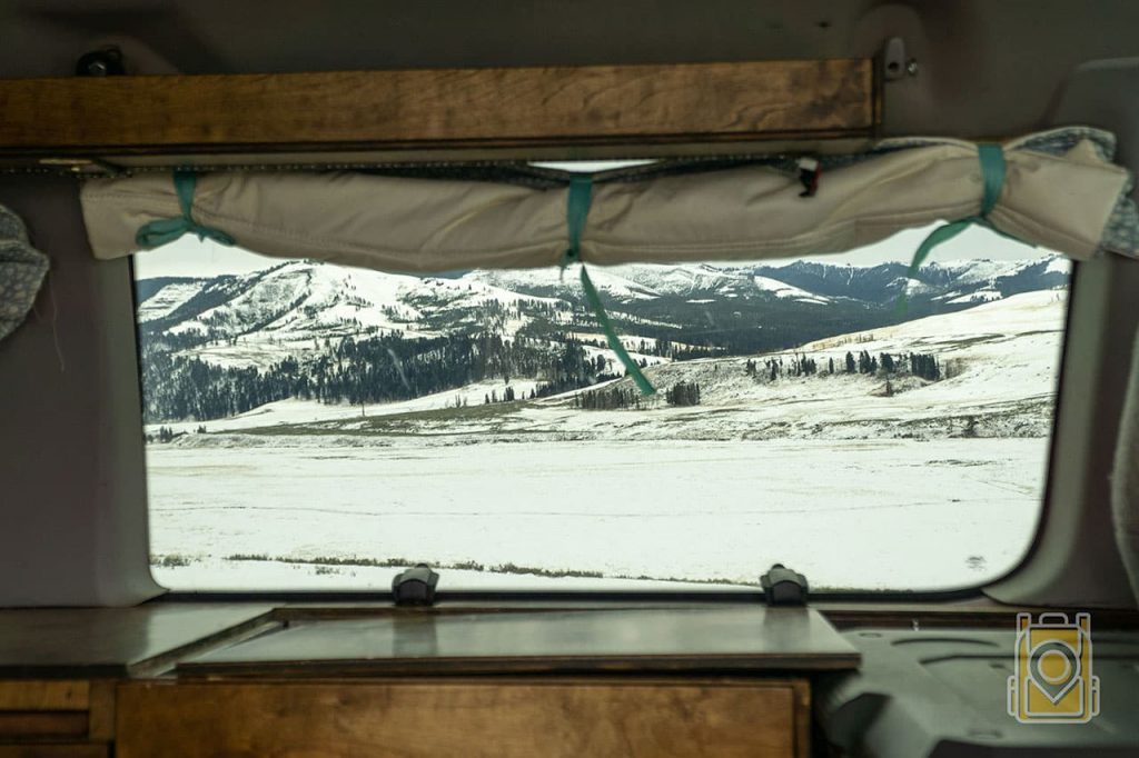 Living In a Van Full Time: Scenic Views of the lamar valley on our van life blog