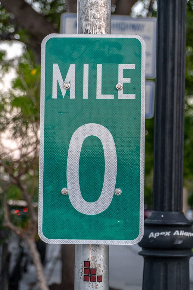 A Leisurely Guide to Key West: stop at the 0 Mile Marker