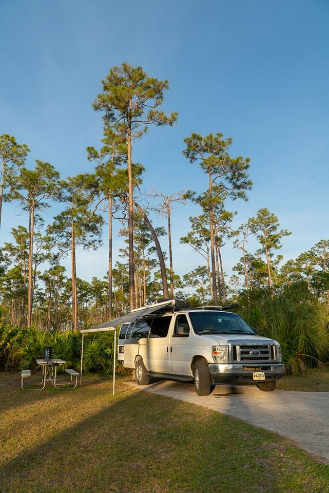 Perfect Everglades Itinerary: Stay at the Long Pine Key Campground