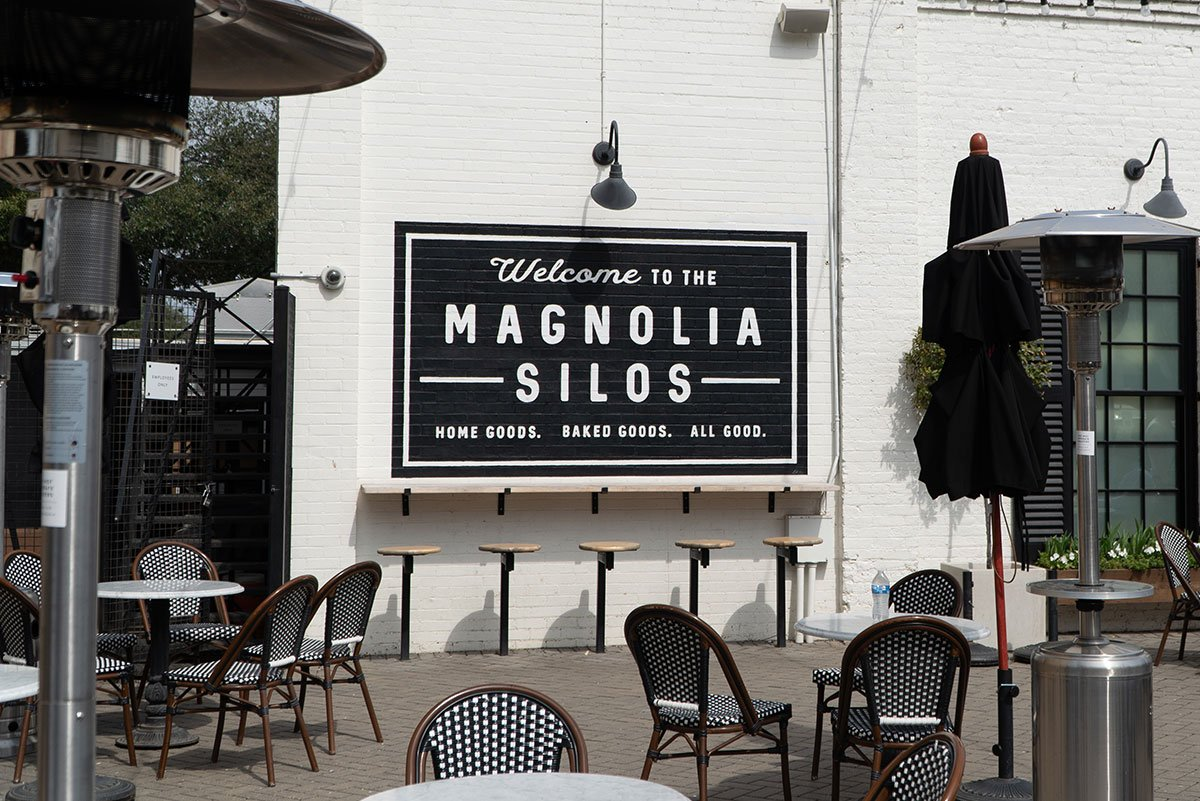 Visiting Magnolia Market: Welcome Sign at Magnolia Market