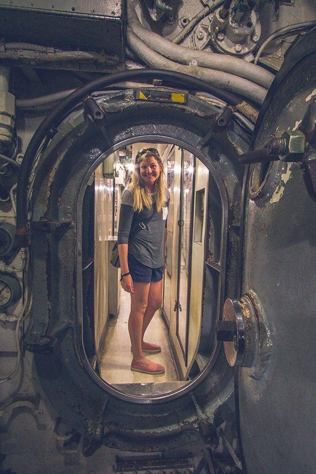 Patriots Point Inside Submarine