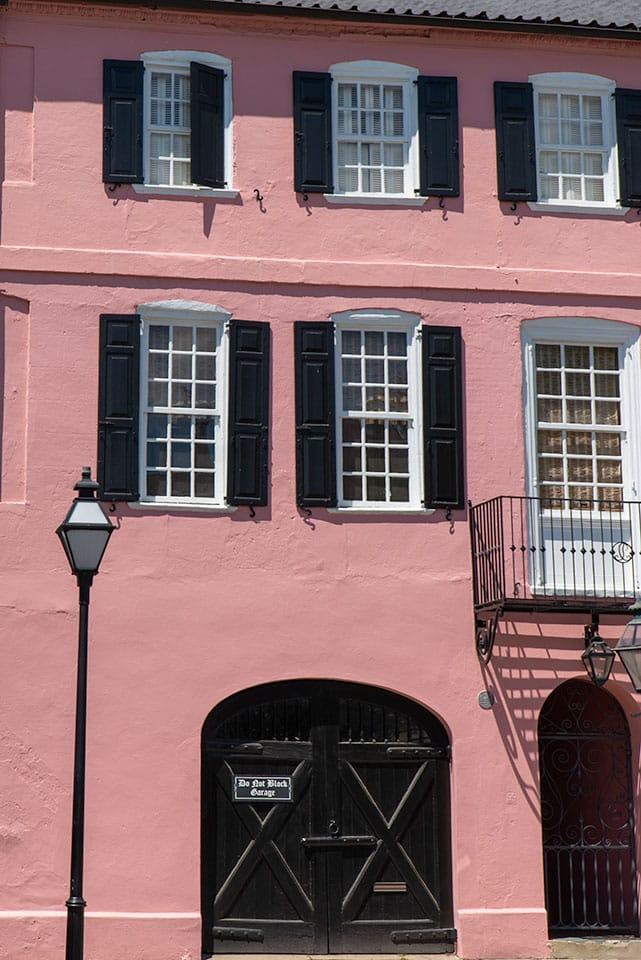 Charleston South Carolina Vacation: Rainbow Row