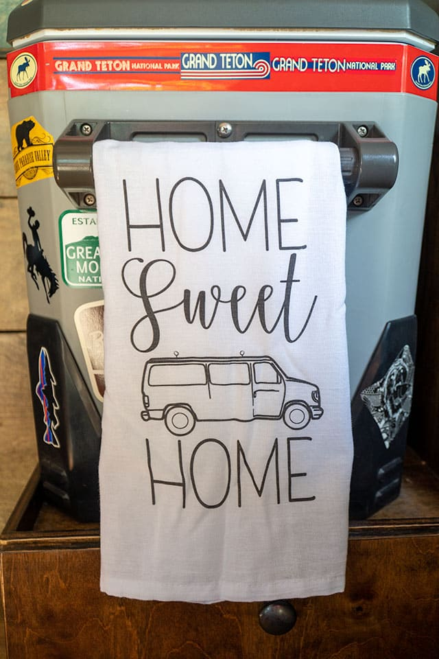 van life accessories: Hand Towel