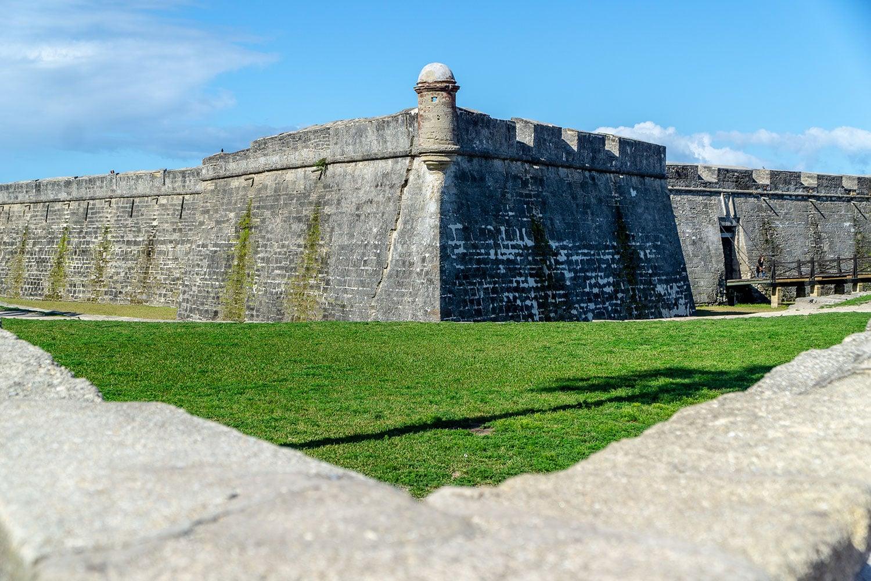 the Castillo de San Marcos National Monument