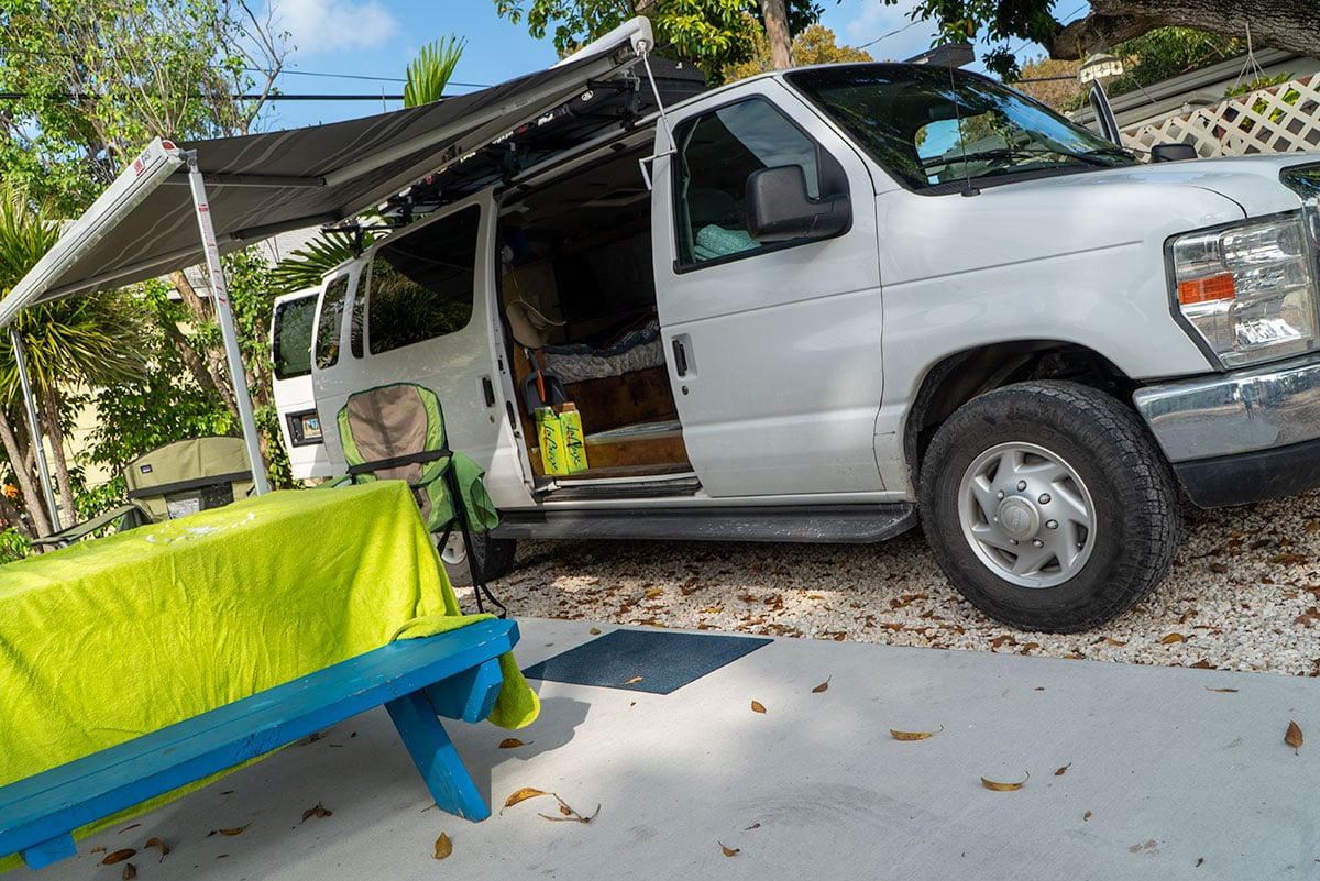 How to Make Your Van Feel Like Home: Van Exterior
