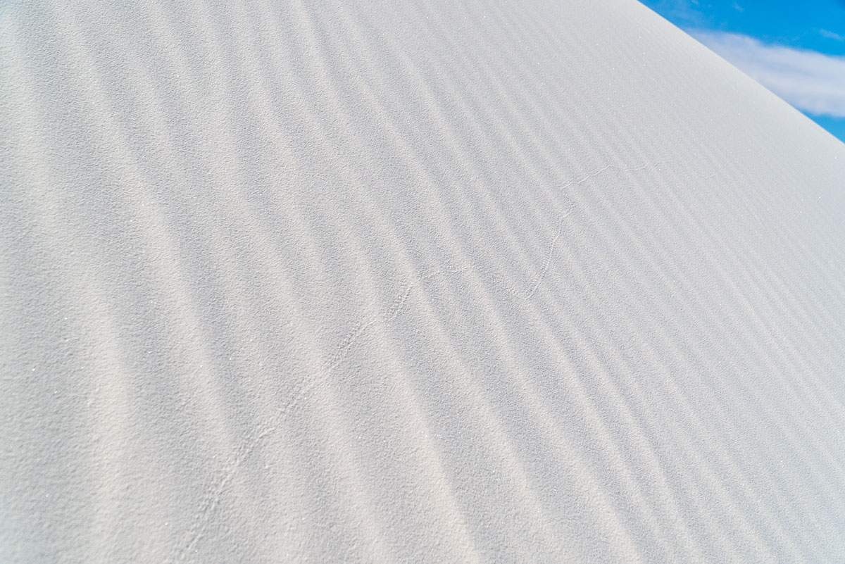 Visiting White Sands: Ripples in Sand