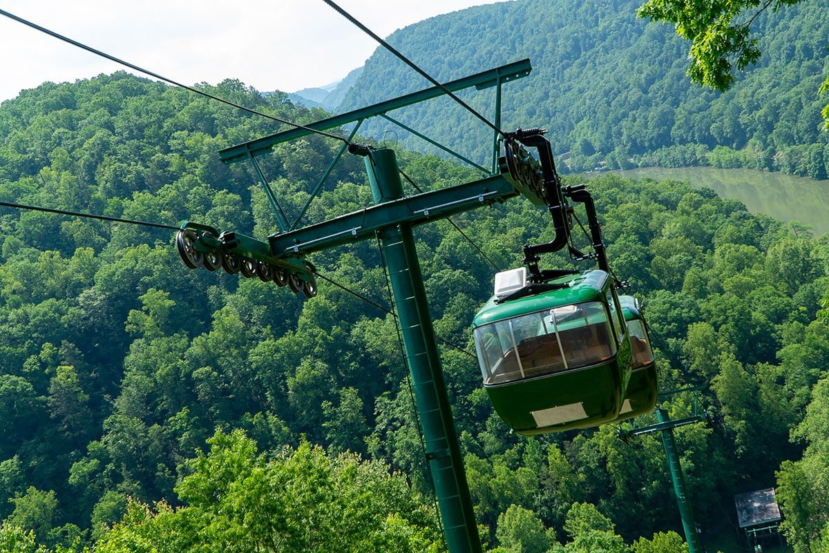 Definitive Guide to the New River Gorge: Hawks Nest State Park Tram