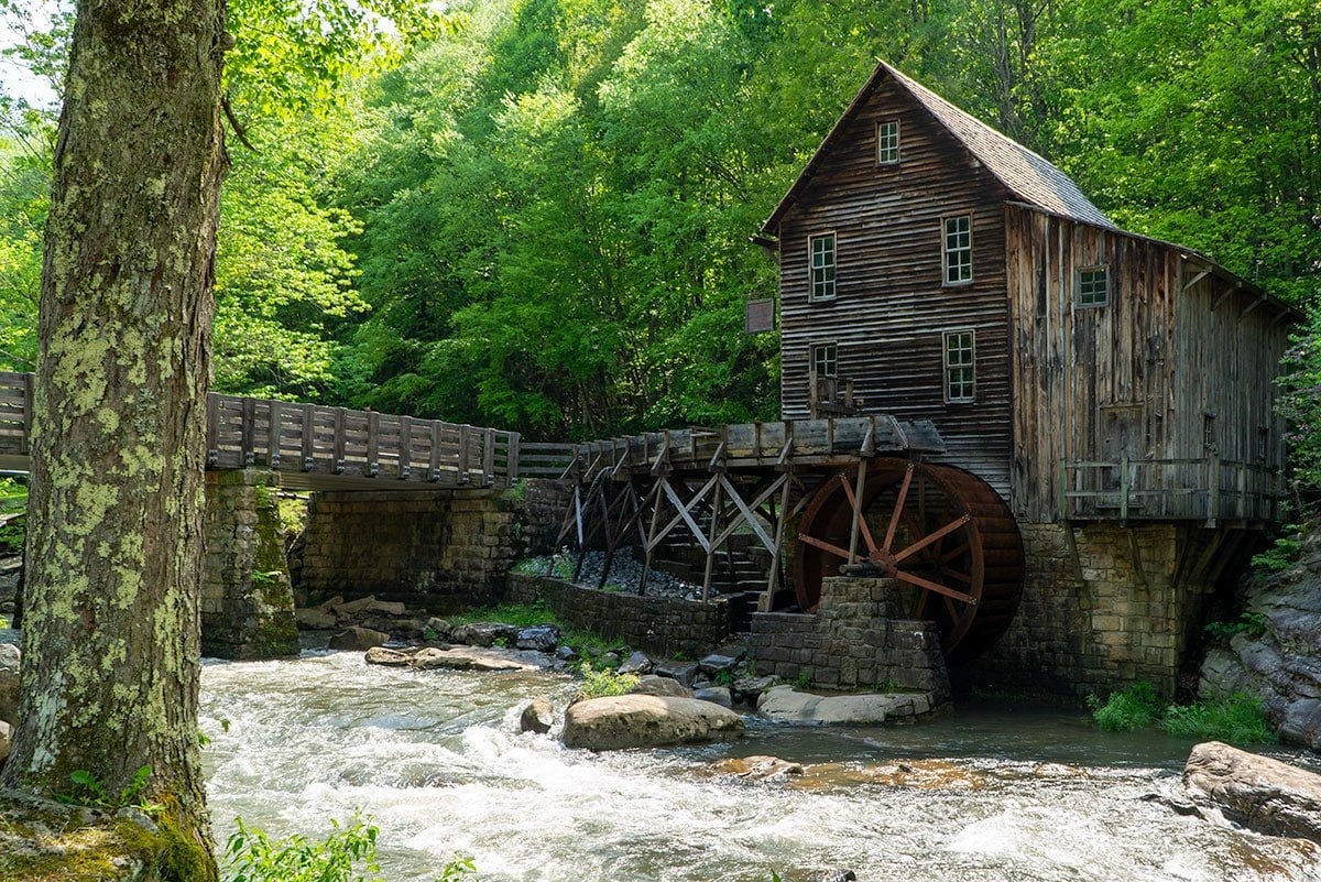 Definitive Guide to the New River Gorge: Glade Creek Grist Mill